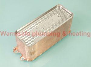 Vaillant 0020025041 domestic hot water heat exchanger