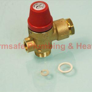 Vaillant 190728 pressure relief valve