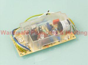 Glow-worm S900817 single fuse type PCB