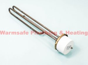 """Thermco ELE11IN800UNV - 1 3/4"""" 3kW Immersion Heater 14"""" for Unvented Cylinders"""