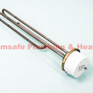 "Thermco ELE11IN800UNV - 1 3/4"" 3kW Immersion Heater 14"" for Unvented Cylinders"