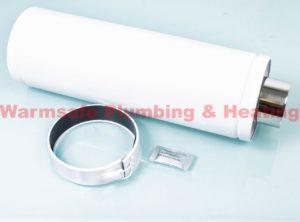 grant extk09 450/90 high level vertical balanced flue extension kit(for 12 26kw boilers) 450mm