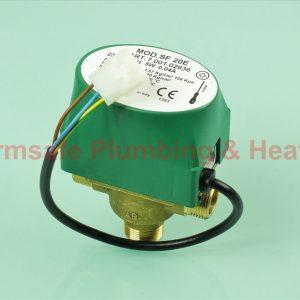 Ferroli 39810940 valve - 3 way diverter comes with head