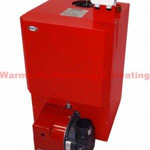 Grant Vortex Pro 58-70kW Boiler House Model Oil ErP & Burner & Flue VTXBH58/70