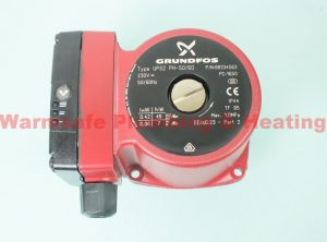Grundfos UPS2 15-50/60 2 phase pump head