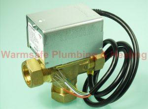 Honeywell 3 Port 22mm Valve Mid Position V4073A1039 40004805-001