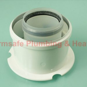 Ideal 203135 vertical flue connector (with Gasket)