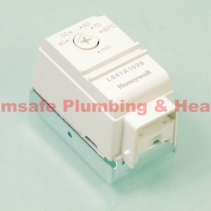 Honeywell L641A1039 cylinder thermostat 50-80c