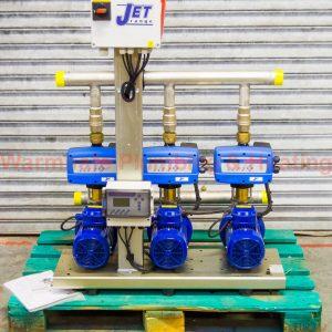 Jet 404/3 triple booster pump set 1PH 240V 100588
