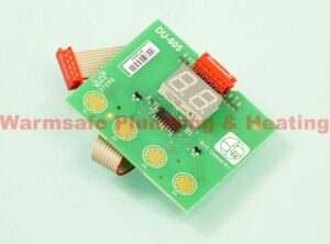 Remeha Avanta S62739 display PCB