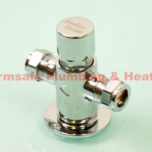 Armitage Shanks S9322AA Chrome Avon Self-Closing Exposed Shower Valve