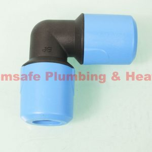 PUSH FIT BLUE EQUAL ELBOW FOR COLD WATER UG301B X10