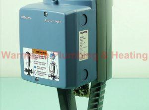 Siemens Actuator skd 62 0-10vdc low torque spring return actuator