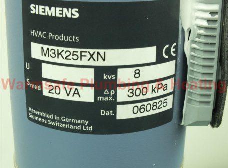 Siemens M3K25FXN Valve