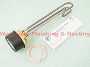 Tesla TIH570 titanium immersion heater and radiator stat 14""