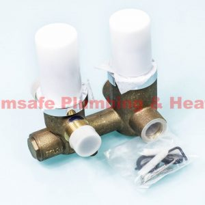 Thirty6 T6BIT2DSVC Thermostatic Built In Valve with 2 Way Diverter