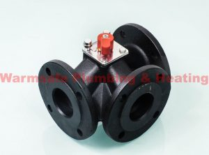 Siemens VBF21.50 3-port flange valve