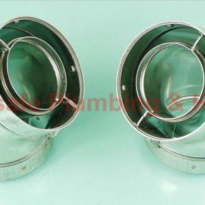 Worcester Bosch 77161910140 45 deg flue elbow (pair) only
