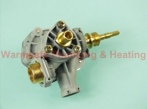 Worcester Bosch 87070026330 water valve assembly