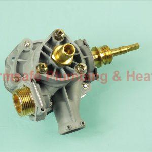 Worcester Bosch 87070026330 water valve assembly