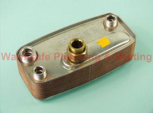 Worcester Bosch 87161110350 plate heat exchanger