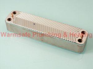 Worcester Bosch 87161082120 heat exchanger 20 plates
