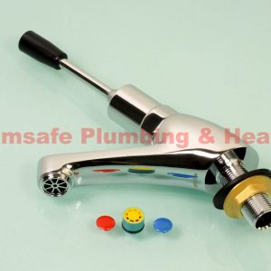 Bristan  L1/2 C Chrome Self Closing Single Handle Basin Tap with Toggle Lever