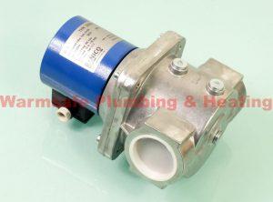 Banico ZEV50-24 gas solenoid valve automatic reset 2inch 24v