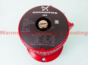 Grundfos 96405980 UPS (D) 32-60/2 pump head 1 ph