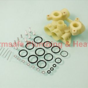 Worcester Bosch 87161430160 bottom manifold