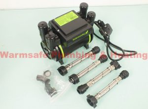 Salamander Xtra CT50 twin shower pump 1.5bar