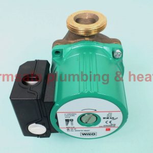 "Wilo SB30 1 phase bronze hot water pump with 1"" unions"