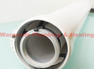 warmflow 3543 extension pipe 1000mm