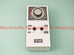 danfoss 087n652600 3020p twin channel mini programmer with backplate