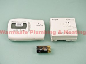 drayton rf701 digistat 3rf and single channel receiver