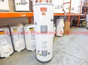 heatrae sadia megaflo eco 95050472 250i indirect unvented hot water cylinder with kit