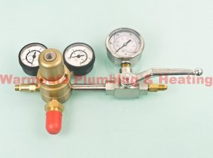 javac ga750 nitrogen pressure regulator and test rig