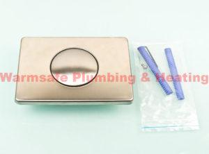 multikwik trf 0333 single flush plate for wc cistern