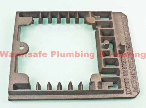 parkray 086007 grate frame outer frame cast iron