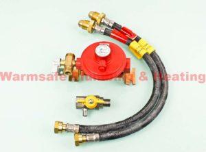 continental cok1 manual 2 bottle changeover kit propane gas cylinder regulator 37mbar 700e