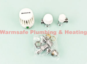 honeywell vtl120 15a thermostatic radiator valve and angled lockshield 15mm