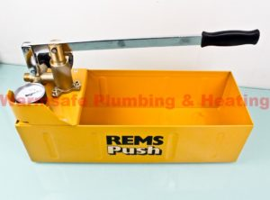 rems 115000 push hand testing pump