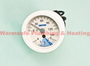 sime 6217002 temperature and pressure gauge