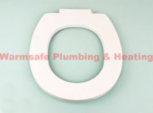 armitage shanks s406601 contour 21 toilet seat only and retaining buffers