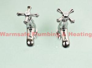 bristan k 1/2 c colonial chrome basin taps