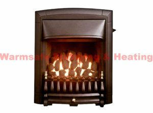 valor 05740n1 dream full depth convector gas fire black