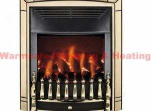 valor 0576101 dream homeflame he inset gas fire pale gold