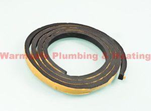 glowworm 2000801705 inner door seal 1390mm 1