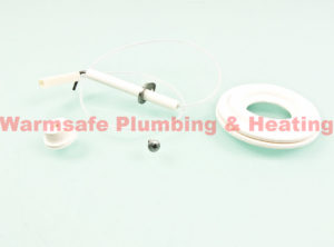 worcester 87161203450 flame sense electrode and harness 1