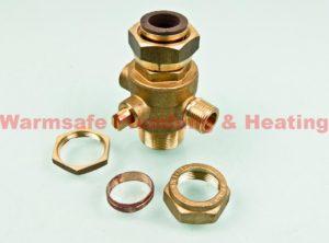 halstead 300711 dhw service valve 22mm 1